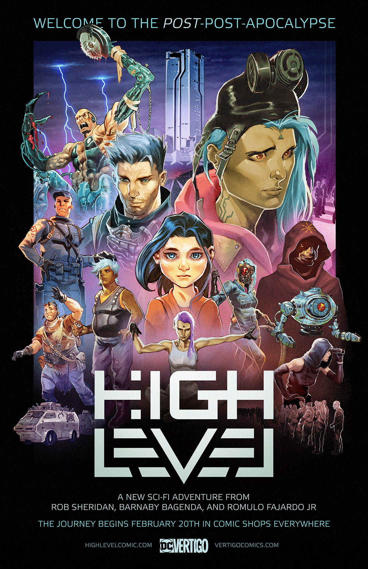 High Level poster